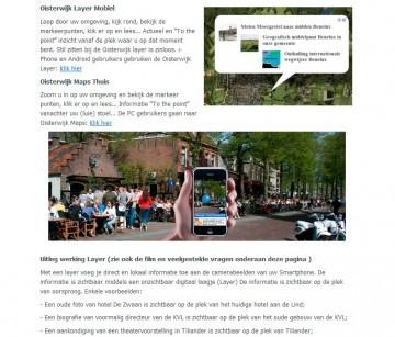 Oisterwijk WordPress Layer mobiel